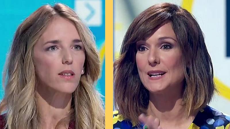El rifirrafe por RTVE entre Mónica López y Cayetana Álvarez de Toledo