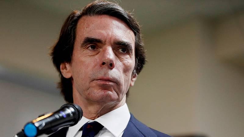 """Aznar avisa de la """"regresión"""" y del intento de """"cambio de régimen"""" en España"""