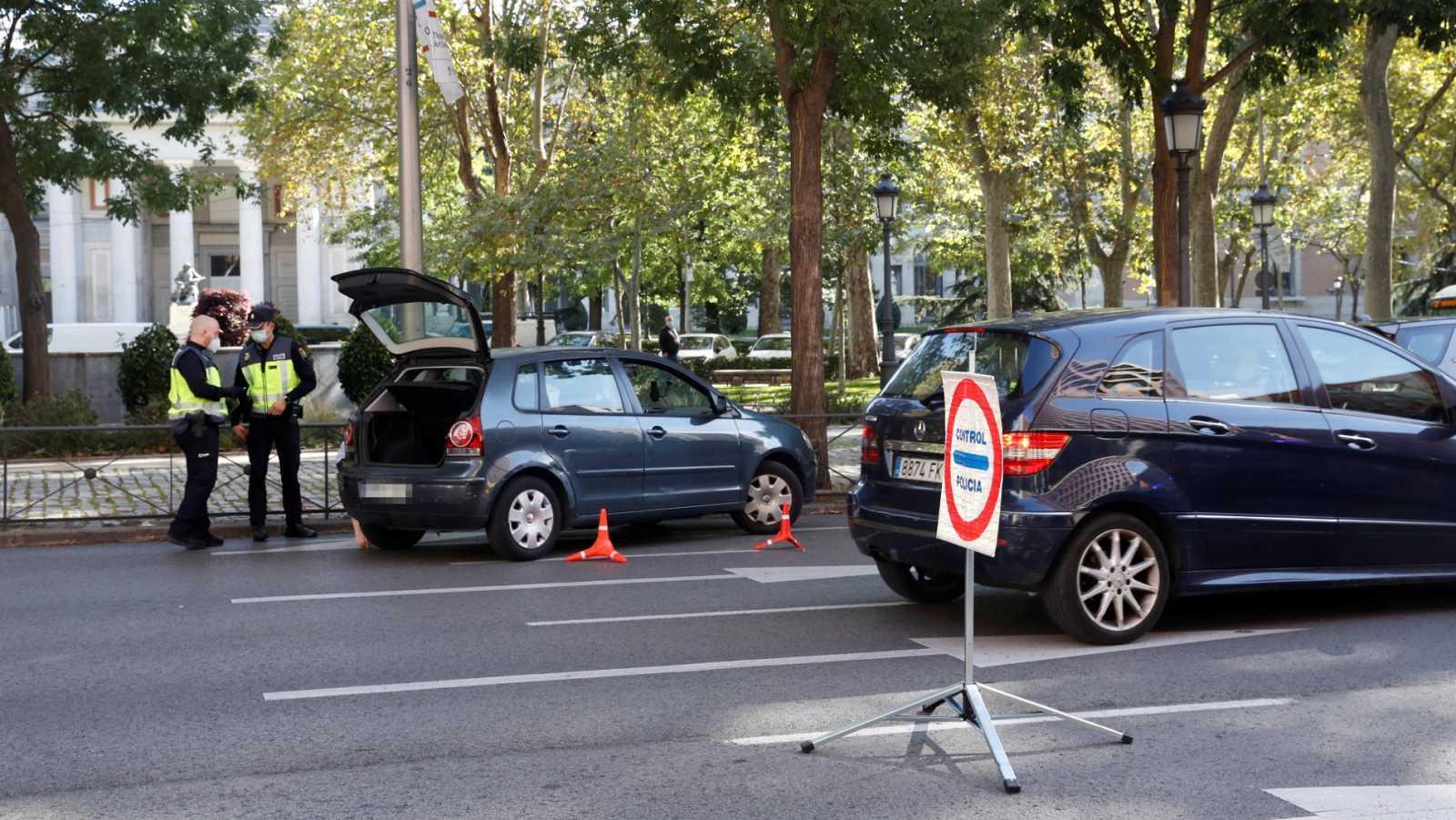 Sin grandes cambios en la movilidad de Madrid, pese a las restricciones