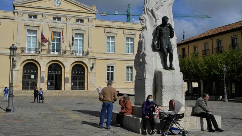 Las ciudades de León y Palencia, confinadas desde el martes por el aumento de contagios