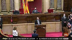 Parlamento - Otros Parlamentos - Inhabilitación de Quim Torra - 03/10/2020