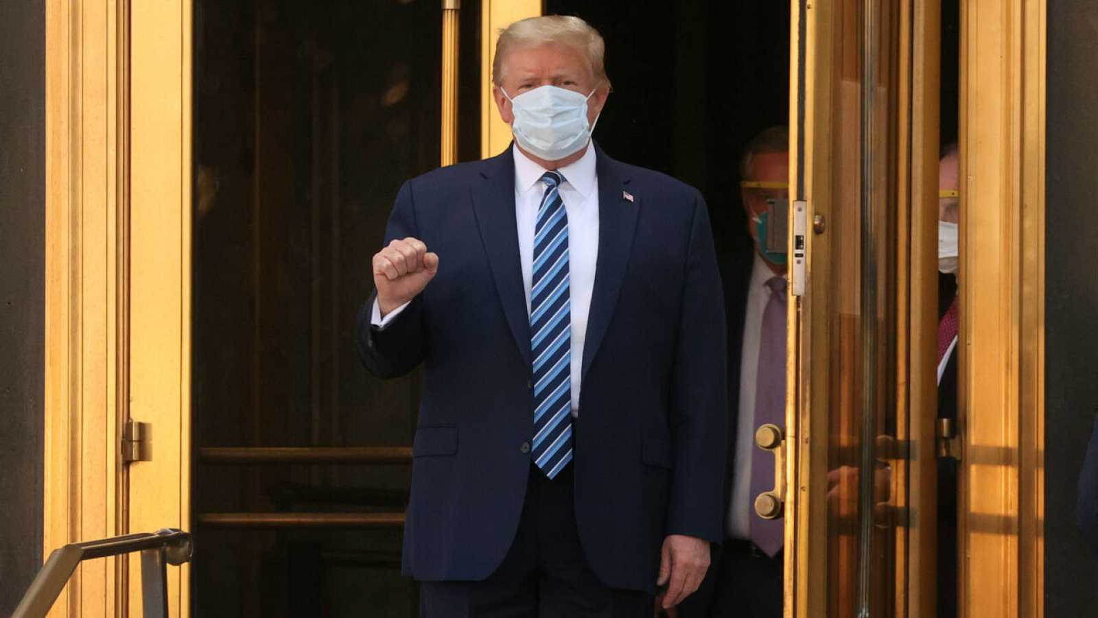 """Trump sale del hospital y regresa a la Casa Blanca: """"No le tengan miedo a la COVID, no dejen que domine sus vidas"""""""