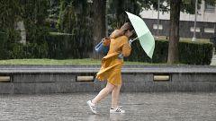 Fuertes chubascos este martes en Canarias y ascenso térmico casi generalizado