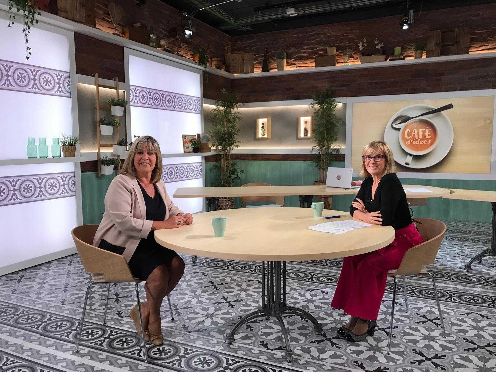 Cafè d'Idees - Entrevista a Núria Marín, Alcaldessa de l'Hospitalet