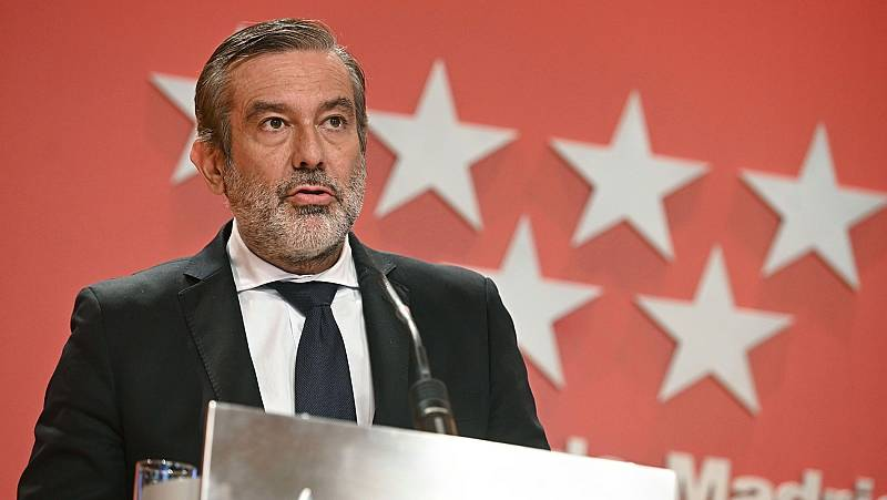 """Enrique López: """"Cuestionar los datos de Madrid es cuestionar al personal sanitario"""""""