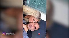 El vídeo en el que Ana Soria besa en bucle a Enrique Ponce