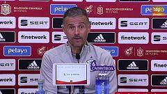 """Luis Enrique, antes de enfrentarse a Portugal: """"Intentaremos hacer las cosas bien"""""""