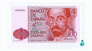 Cruz Novillo diseñó los billetes de pesetas