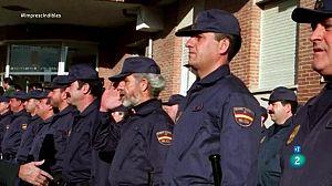 Cruz Novillo cambió a azul el uniforme de la Policia