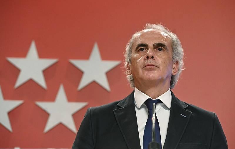 """Escudero asegura que el Gobierno madrileño """"no va a permitir que su información se ponga en duda"""""""