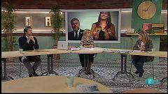 Cafè d'Idees - Laura Borràs, Càritas Barcelona, Santiago Niño Becerra