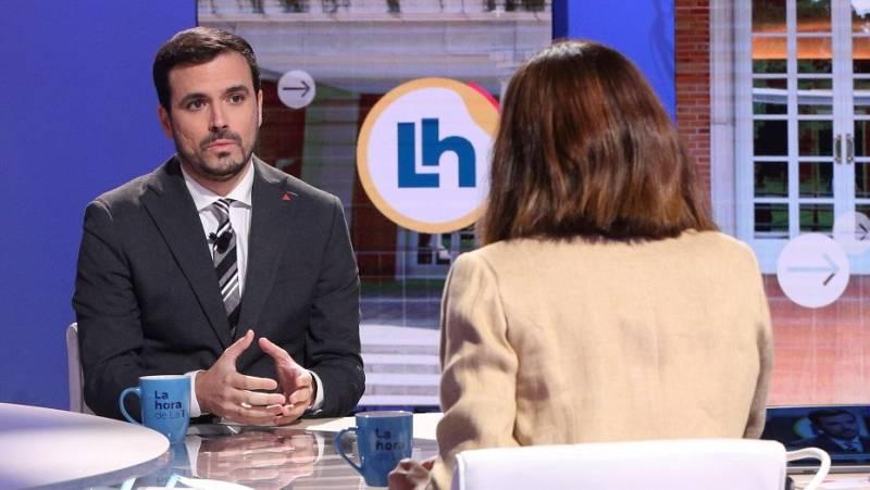 """Garzón asegura no sentirse """"desautorizado"""" por sus críticas a la monarquía: """"Tenemos el deber de defender la neutralidad"""""""