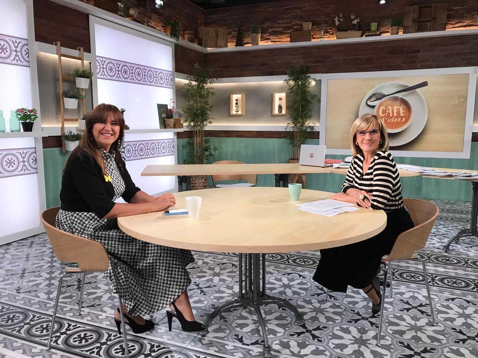 Cafè d'Idees - Entrevista a Laura Borràs, portaveu de JxCat al Congrés