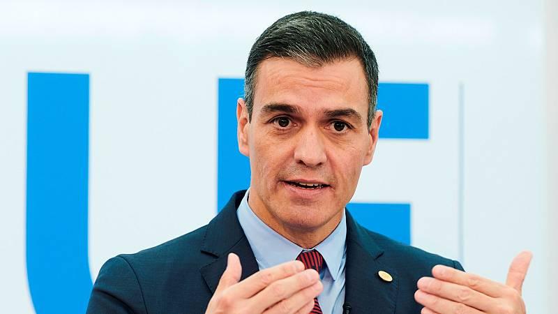 Sánchez anuncia que el Plan de Recuperación movilizará 72.000 millones en tres años