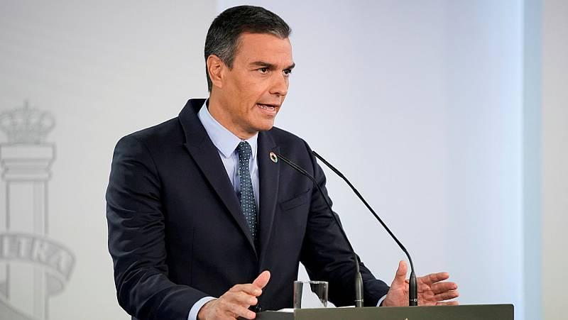 """Sánchez llama a la unidad ante la """"sacudida"""" del coronavirus: """"El Gobierno opta por el camino de la colaboración"""""""