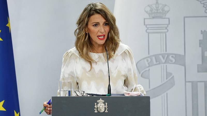 Díaz expresa su solidaridad y afecto a Iglesias