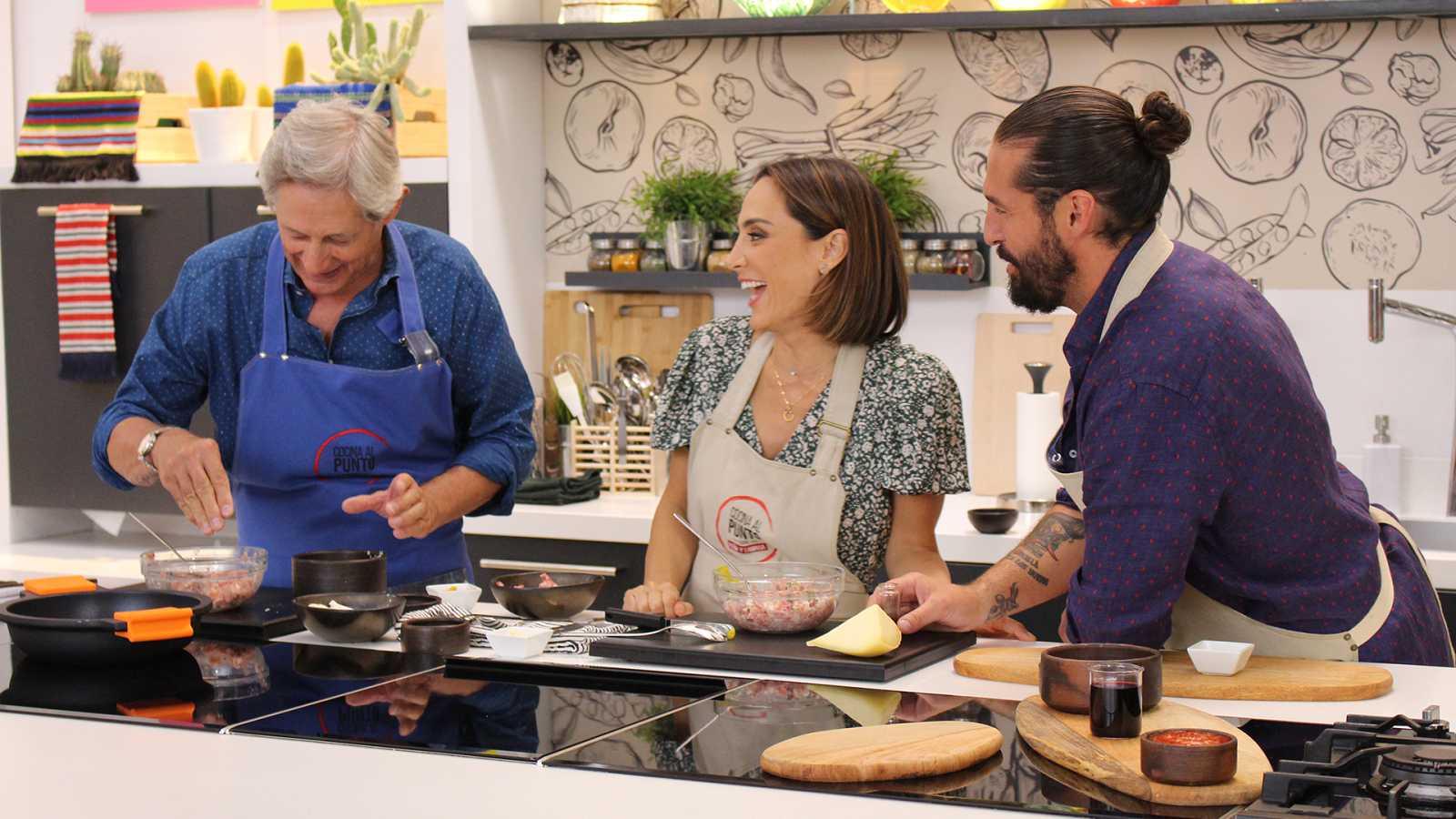 Cocina al punto con Peña y Tamara - Alubias con perdiz - ver ahora