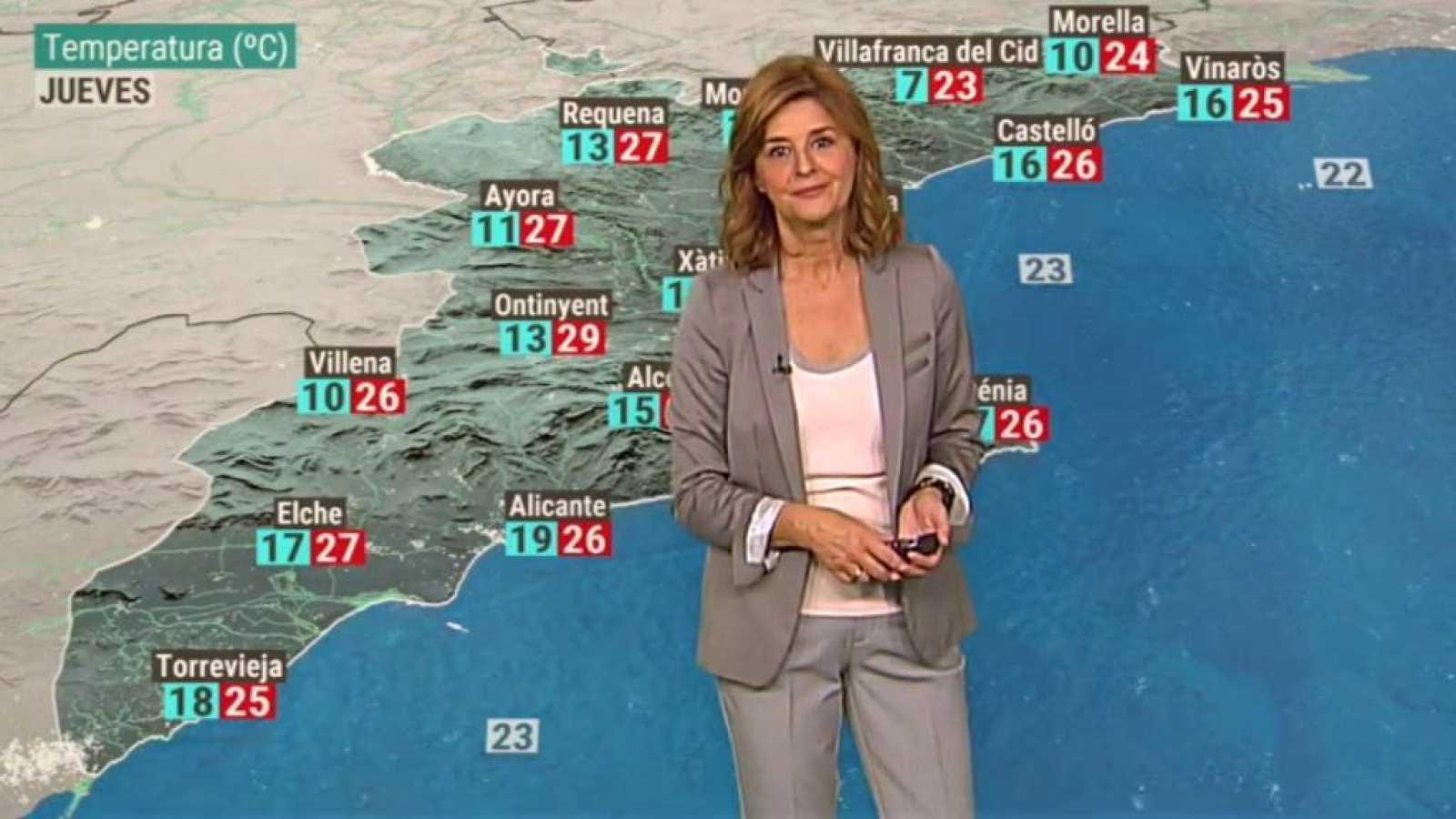 El tiempo en la Comunidad Valenciana - 07/10/20 - ver ahora