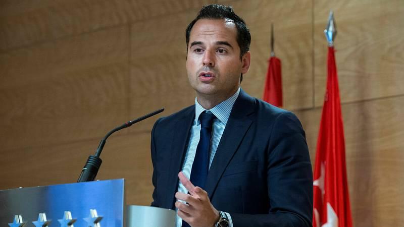 """Aguado, sobre la situación de Madrid: """"No podemos seguir trasladando que las cosas van bien, porque no es cierto"""""""