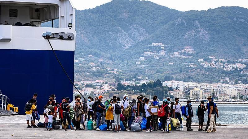 Cerca de dos mil refugiados de Moria serán reubicados en países de la UE