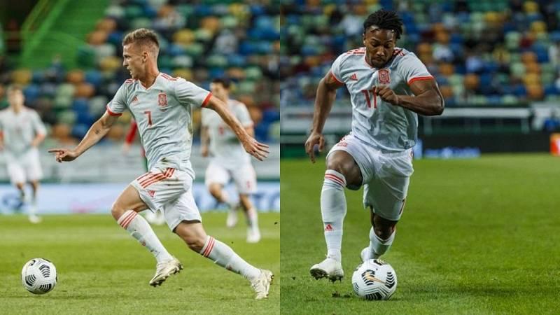 Las mejores jugadas de Dani Olmo frente a Portugal