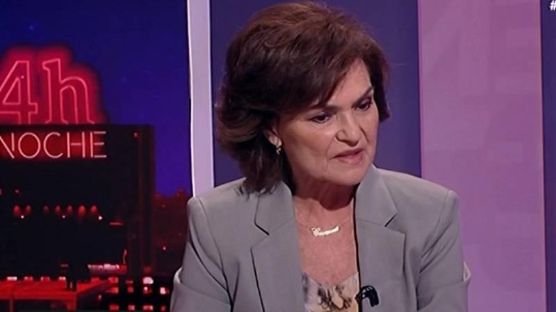 """Calvo, sobre la petición de imputación de Iglesias: """"Nada tiene que ver con su labor en el Gobierno"""""""