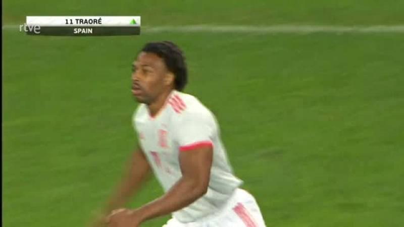 Así fue el debut de Adama Traoré con la selección