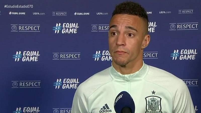 """Rodrigo Moreno: """"El partido podría haber caído de cualquier lado"""""""
