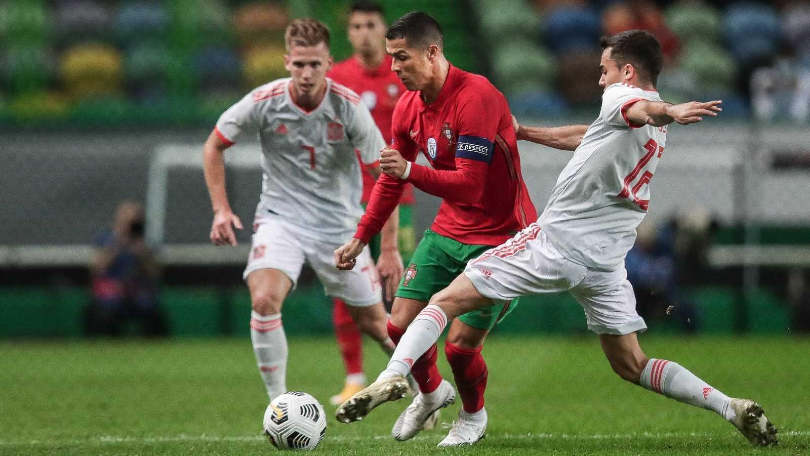 Resumen del Portugal 0-0 España