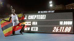 Cheptegei bate el récord del mundo de 10.000 metros