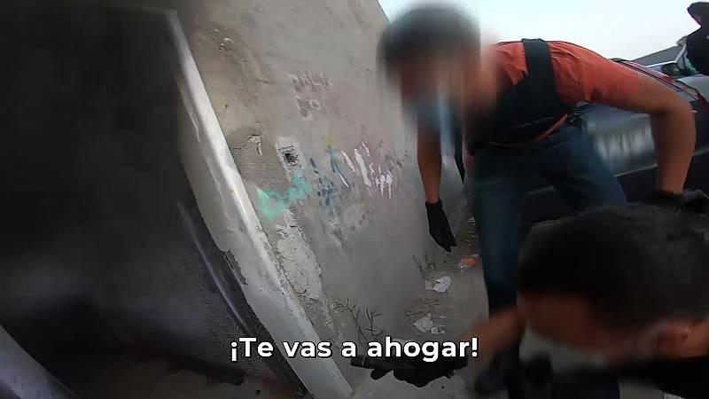 El acceso policial al búnker de Los Kikos