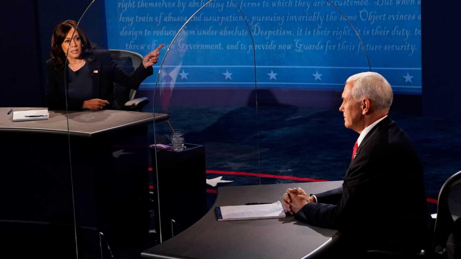 Especial informativo - Debate vicepresidencial EE.UU entre Mike Pence y Kamala Harris - ver ahora