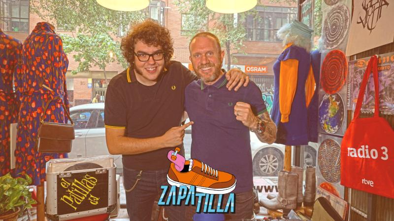 Zapatilla - Za-Patillas DJ, El Lobo en Tu Puerta y Viñetas - Ver ahora