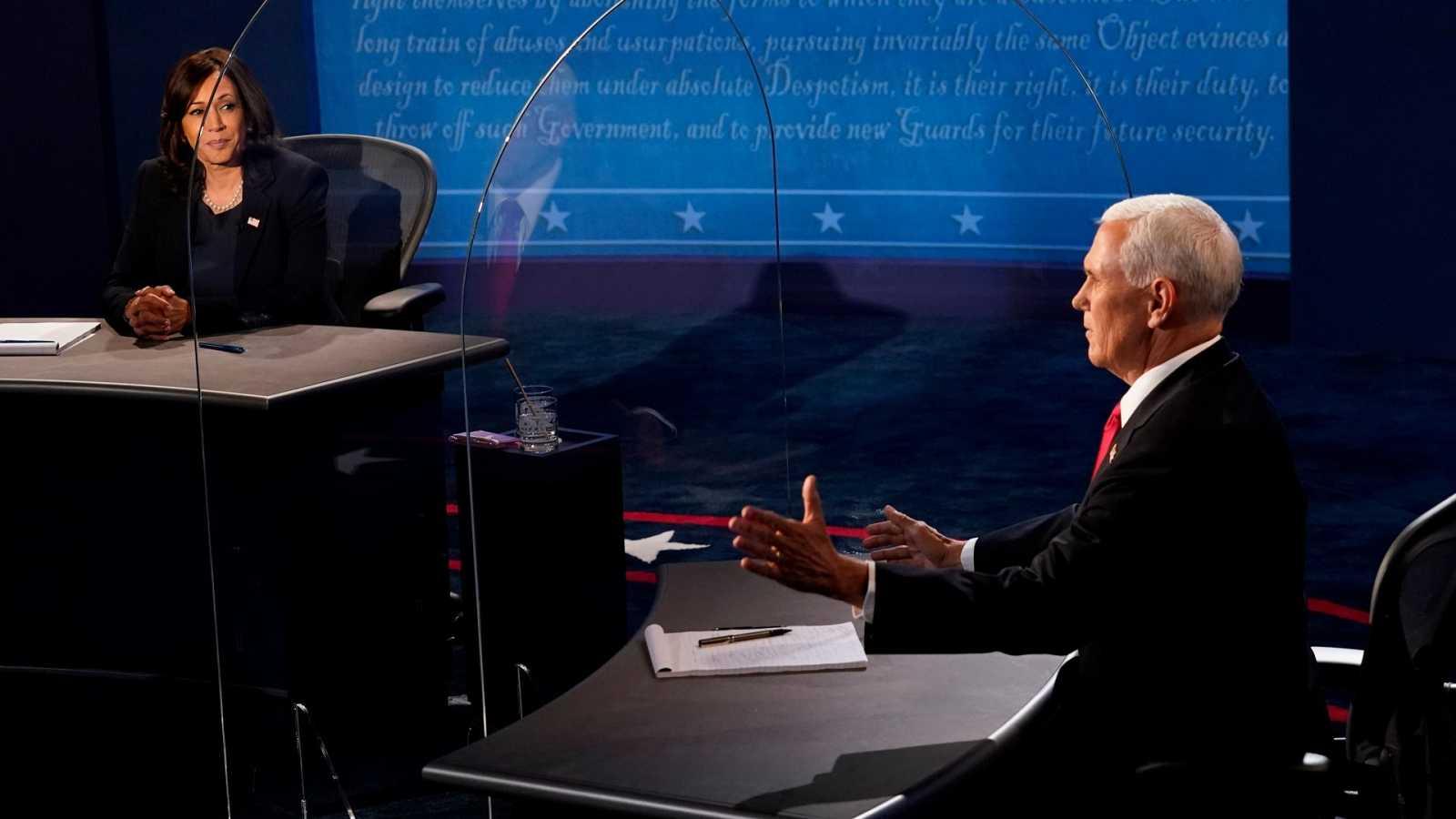 Kamala Harris y Mike Pence protagonizan un debate marcado por la gestión de la pandemia