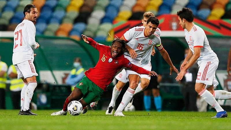 Espana y Portugal firman tablas en Lisboa