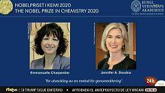 Emmanuelle Charpentier y Jennifer Doudna, un premio Nobel de Química que hasta ahora sólo habían conseguido otras cinco mujeres