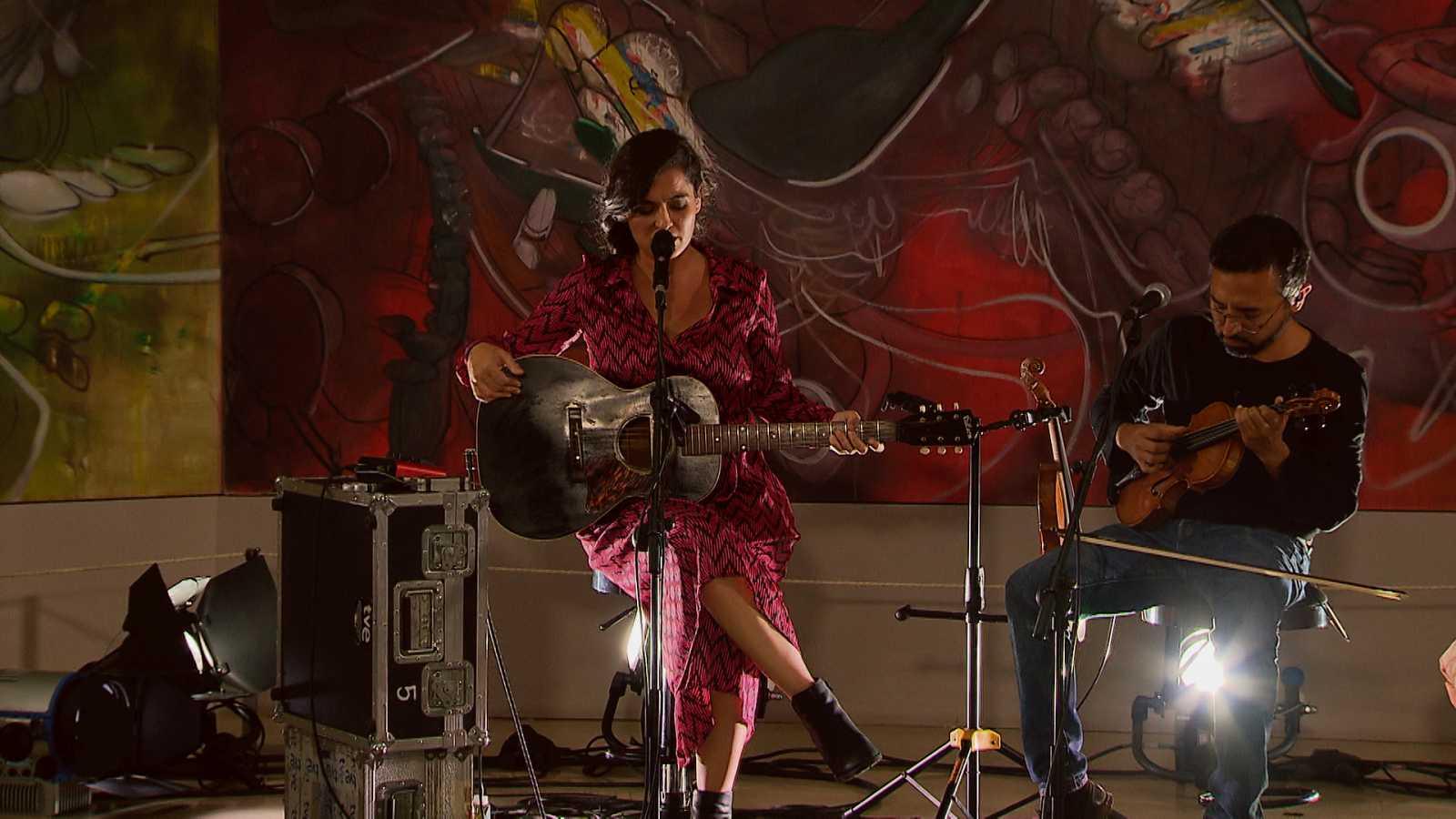 Zona Extra - Silvia Pérez Cruz en el Museo Thyssen canta 'Plumita' - 15/09/10/20