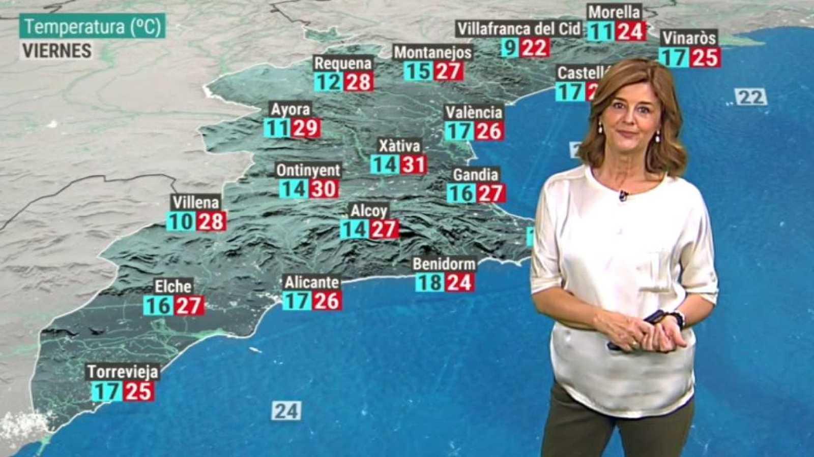 El tiempo en la Comunidad Valenciana - 08/10/20 - ver ahora