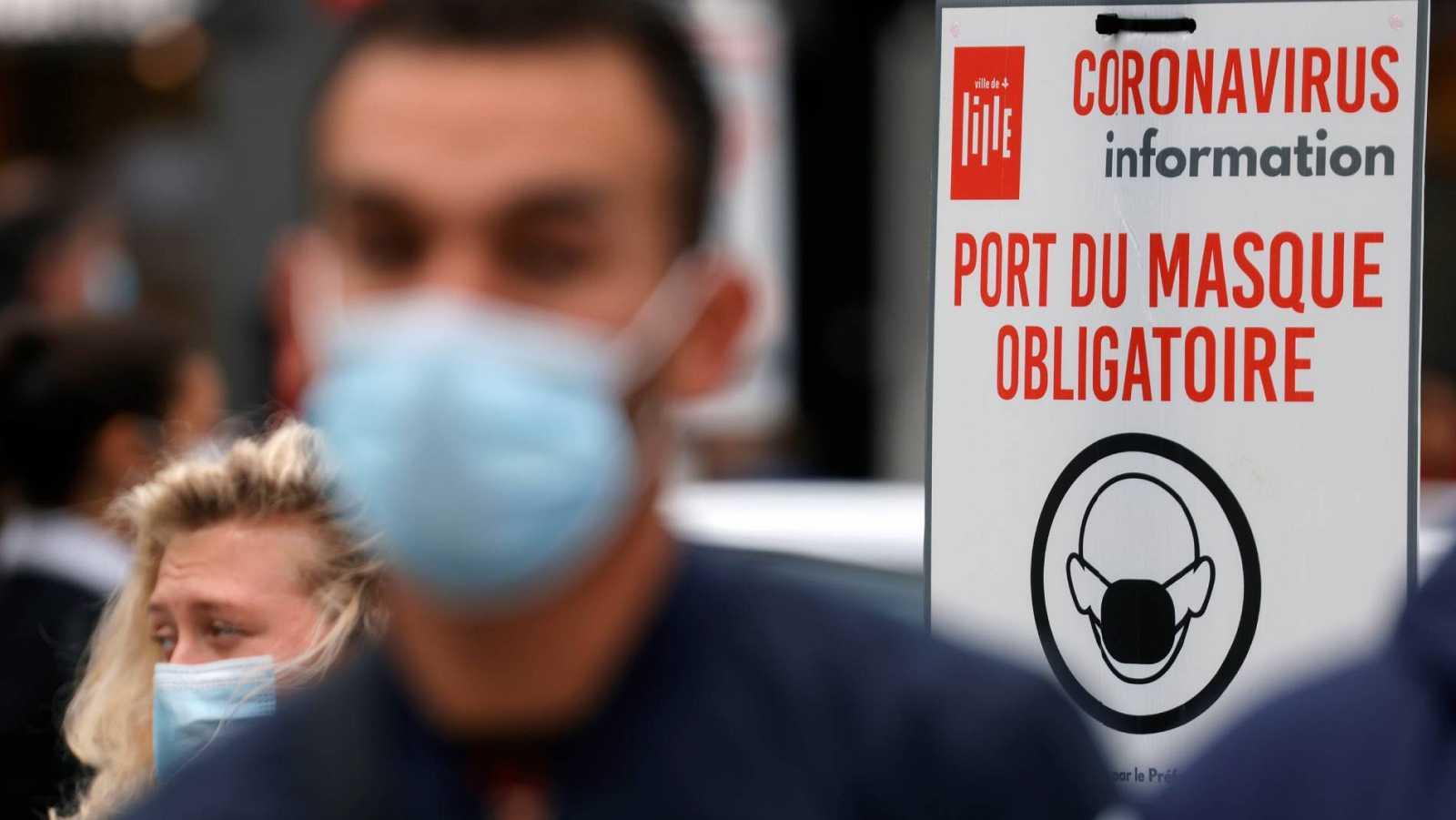 Varios países europeos registran las cifras más altas de contagios de contagios de la pandemia de coronavirus