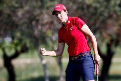 Ganar un grande, la gran asignatura del golf femenino español