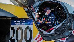 """Carlos Sainz tras su pinchazo en el Rally de Andalucía: """"La etapa parecía más una yincana"""""""