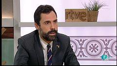 Roger Torrent demana al Rei Felip VI una reflexió sobre les raons del seu rebuig a Catalunya