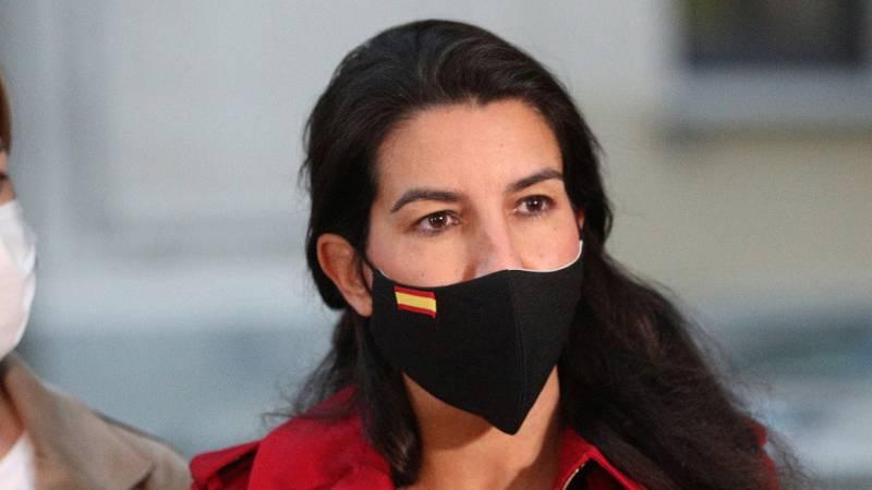"""Rocío Monasterio (Vox): """"Sánchez no tiene que imponer la dictadura del estado de alarma"""" en Madrid"""