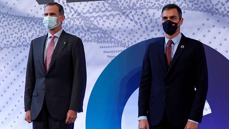El rey y Sánchez presiden la entrega de premios de la 'Barcelona New Economy Week'