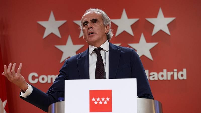 Madrid anuncia que aplicará las restricciones por zonas de salud a partir de 750 casos por 100.000 habitantes