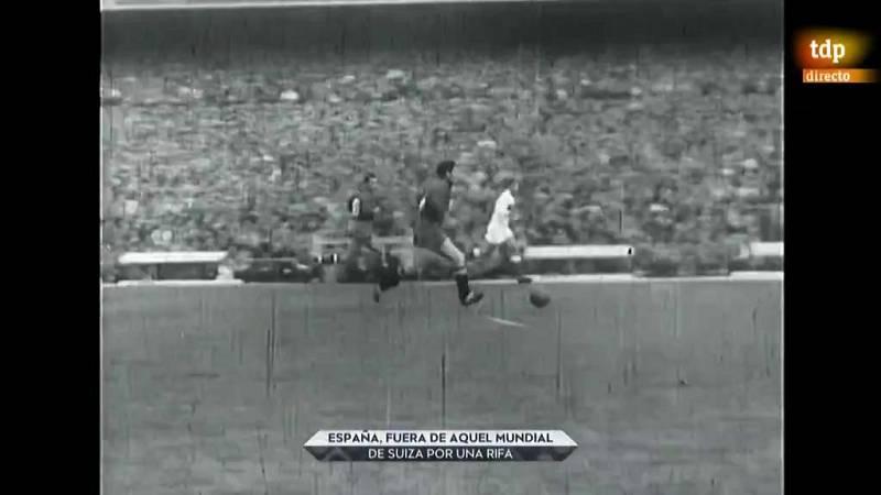 España y la rifa que le dejó fuera del Mundial de Suiza '54