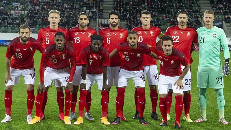 Así podría ser el once titular de Suiza para enfrentarse a España