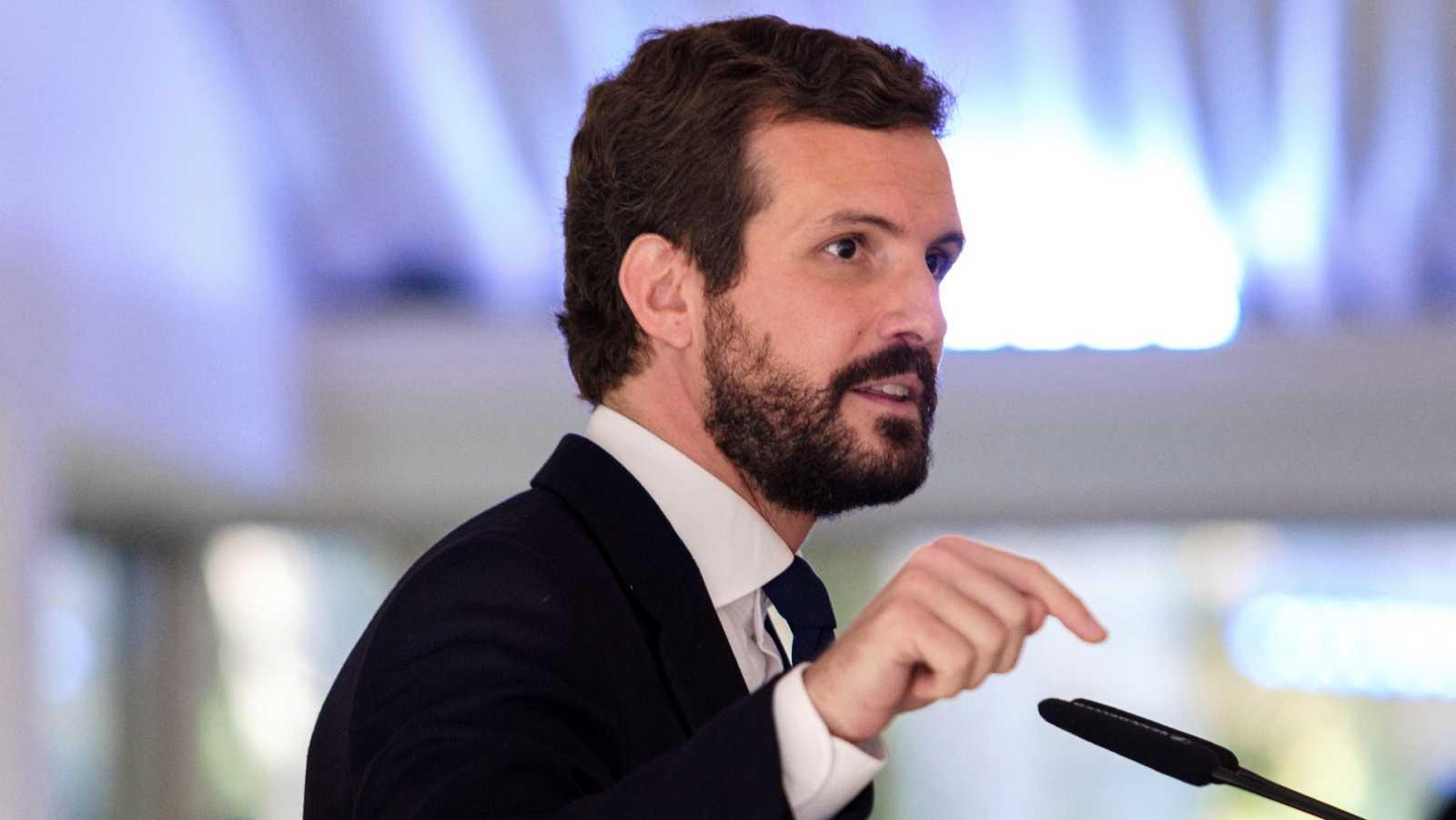 Casado pide que Sánchez comparezca en el Congreso y le acusa de intervenir Madrid con fines partidistas
