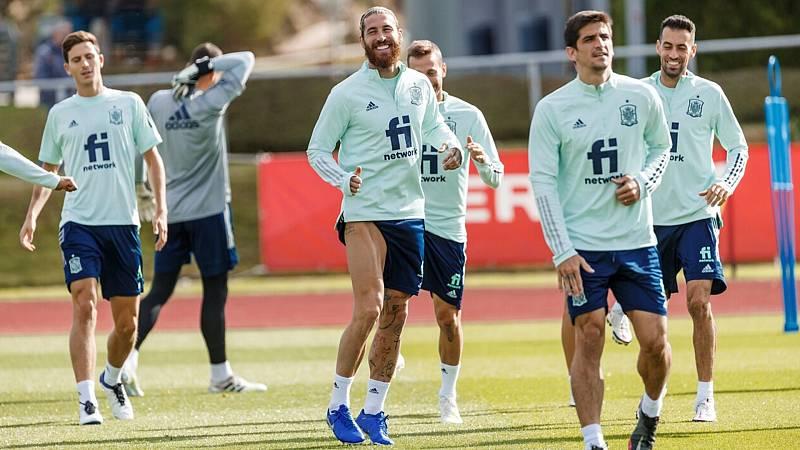 Fútbol - UEFA Nations League 2020. Programa previo: España - Suiza - ver ahora