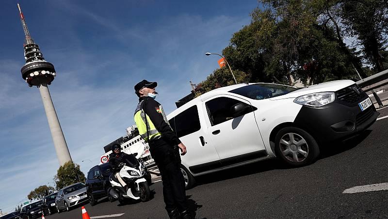 Más de 7.000 agentes de Policía y Guardia Civil controlarán el cumplimiento de las restricciones de movilidad en Madrid
